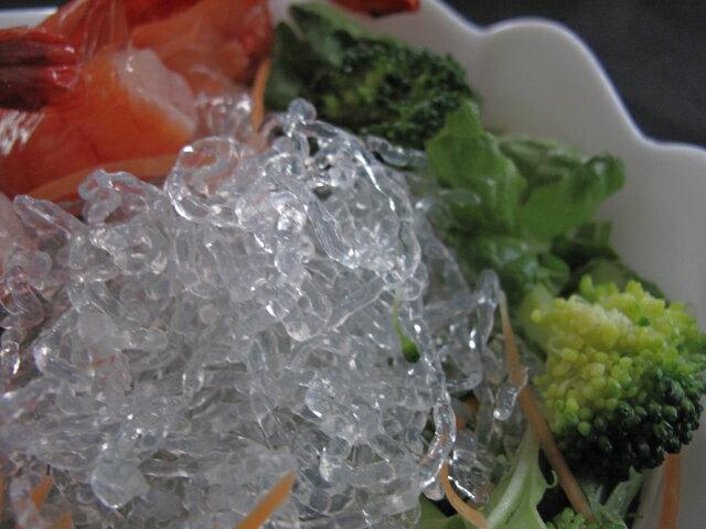 パリパリ 格安激安 プチッ 新食感 推奨 冷凍品との同梱不可 海藻から抽出したアルギン酸ナトリウムで作った海藻麺シークリスタル M1