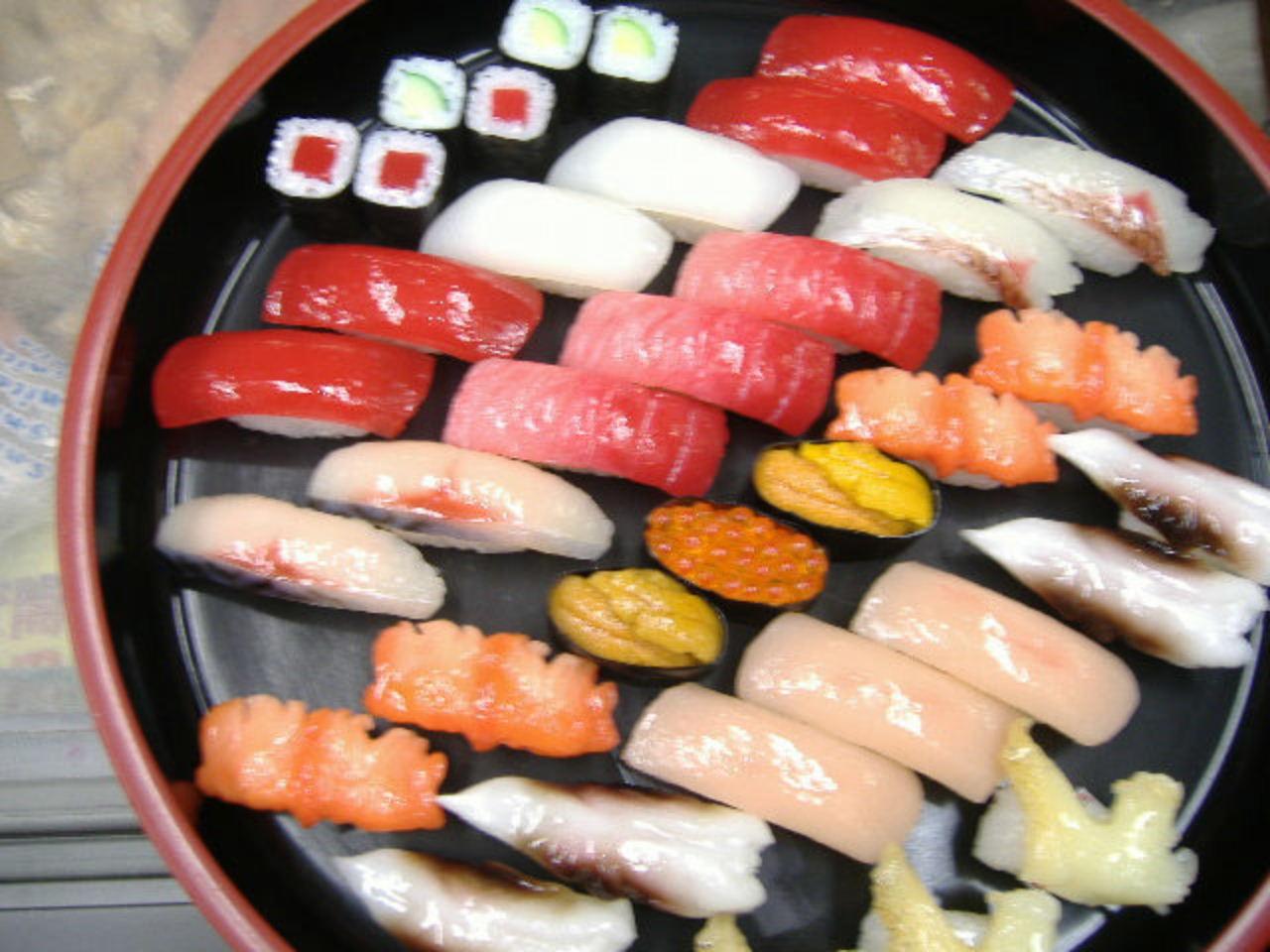 E Edo-style! Pickled Shad