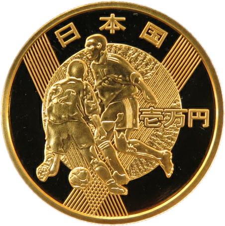 【金貨】 2002 FIFA サッカーワールドカップ 日韓大会 金貨単体セット 【サッカー】