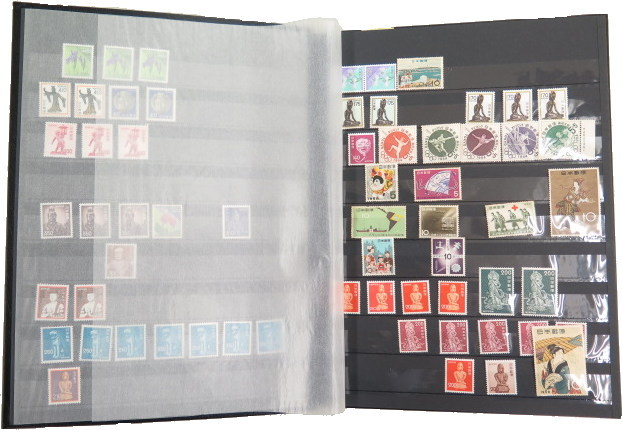 Product made in stamp stock book (album of stamps) nine steps pocket (32  pages) stock book lighthouse company