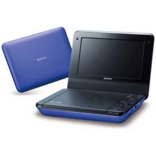 ポータブルDVDプレーヤー 7V型 ブルー DVP-FX780-L LEDバックライト液晶搭載 【ポイント10倍!5月25日(土)0:00〜5月28日(火)9:59まで】