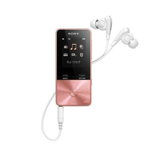 【全品ポイント10倍】ソニー NW-S313-PI ウォークマン Sシリーズ[メモリータイプ] 4GB ライトピンク