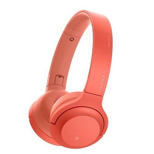 ソニー WH-H800-R 【ハイレゾ音源対応】 ワイヤレスステレオヘッドセット 「h.ear on 2 Mini Wireless」 トワイライトレッド