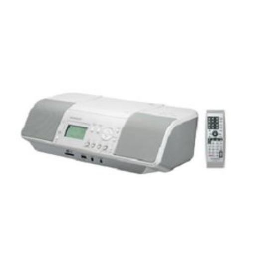 JVCケンウッド CLX-30-W SD/USB対応CDラジオ ホワイト