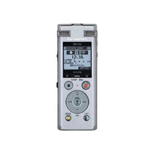 オリンパス DM-750-SLV 新作からSALEアイテム等お得な商品 満載 2マイクノイズキャンセル搭載ICレコーダー Voice‐Trek シルバー 期間限定の激安セール 4GB