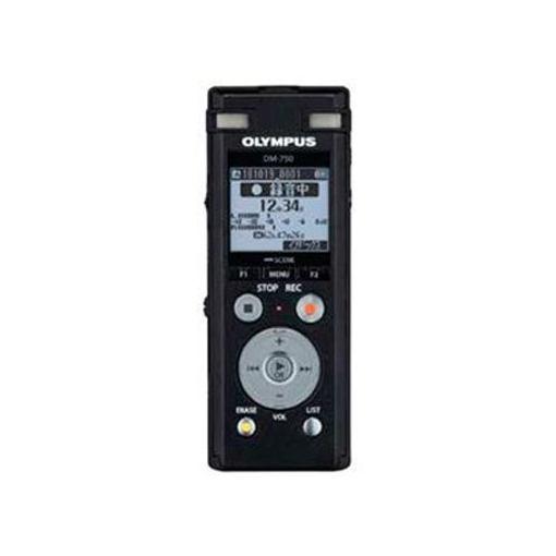 オリンパス セール価格 DM-750-BLK 2マイクノイズキャンセル搭載ICレコーダー ブラック Voice‐Trek 18%OFF 4GB