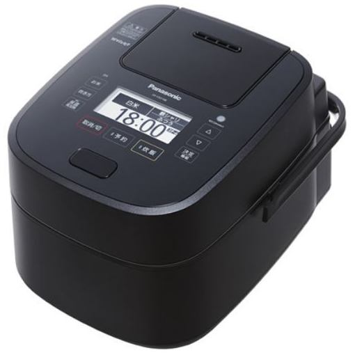 パナソニック SR-VSX108-K 可変圧力スチームIH炊飯ジャー 「Wおどり炊き」(5.5合) ブラック
