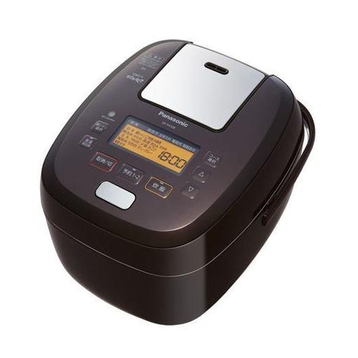 パナソニック SR-PA108-T 可変圧力IHジャー炊飯器 5.5合炊き ブラウン