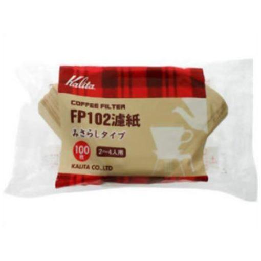 カリタ 格安SALEスタート FP102 国内送料無料 コーヒーペーパーフィルター 2-4人用 100枚入 濾紙みさらしタイプ