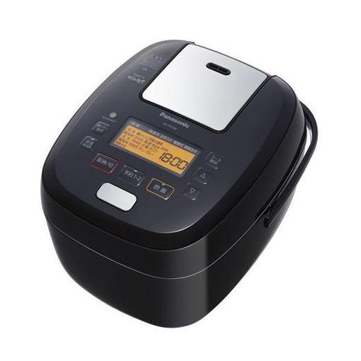 パナソニック SR-PA108-K 可変圧力IHジャー炊飯器 5.5合炊き ブラック