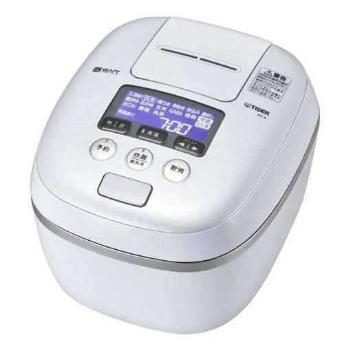 タイガー JPC-A182WE 圧力IH炊飯ジャー 「炊きたて 360°デザイン」 (1升炊き) アーバンホワイト