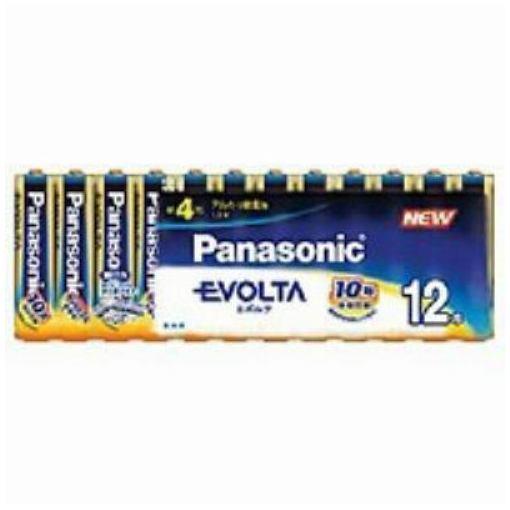 パナソニック 単4形 アルカリ乾電池 「エボルタ」 (12本入り) LR03EJ/12SW