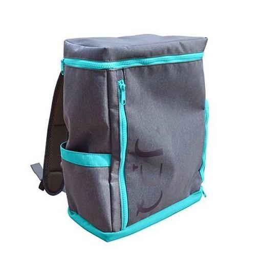 【ポイント10倍!4/22(月)20:00~4/26(金)01:59まで】UPQ(アップ・キュー) BP-02-BG 「USBバックル」付き&ポケット充実バックパック UPQ Bag BP02 mini BG ブルー・バイ・グリーン