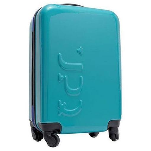 【ポイント10倍!11/4(日) 20:00~11/10(土) 23:59まで】UPQ(アップ・キュー) QBAG001BB UPQ Bag TR01/BB 12,000mAhモバイルバッテリー搭載機内持込対応スーツケース ブルージッパー