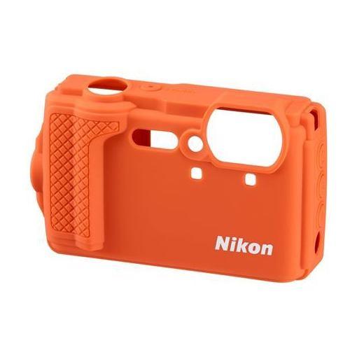ニコン CF-CP3-OR 出色 シリコンジャケット まとめ買い特価 オレンジ