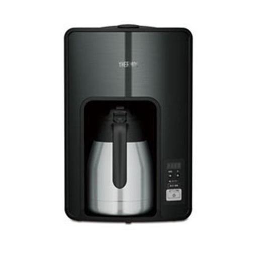 【ポイント10倍!4月9日(火)20:00~4月16日(火)1:59まで】サーモス ECH-1001-BK コーヒーメーカー ブラック THERMOS 真空断熱ポットコーヒーメーカー