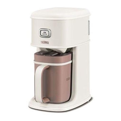 【ポイント10倍!4月9日(火)20:00~4月16日(火)1:59まで】サーモス ECI-660-VWH アイスコーヒーメーカー バニラホワイト THERMOS