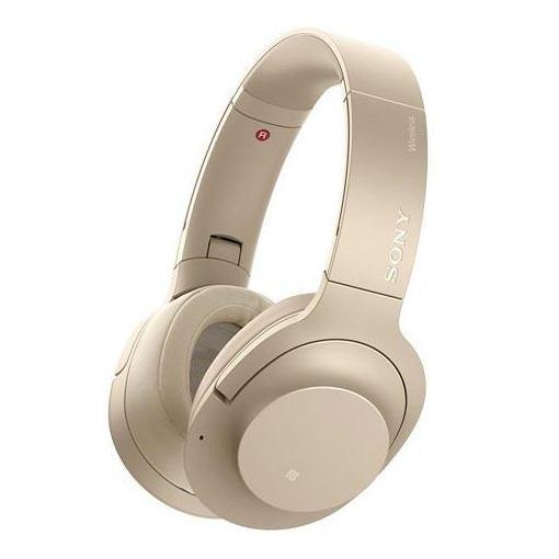 【全品ポイント5倍 8/4 20:00~8/9 01:59】ソニー WH-H900N-N 【ハイレゾ音源対応】 ワイヤレスノイズキャンセリングステレオヘッドセット 「h.ear on 2 Wireless NC」 ペールゴールド