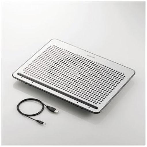 PC用クーラー エレコム 冷却 冷却ファン SX-CL22LSV 強冷タイプ 角度調節 ノートPC用クーラー 舗 15.4~17インチ対応 安値