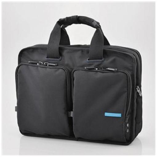 ビジネスバッグ エレコム メンズ 2WAY BM-BG02BK 入手困難 ブラック 超激得SALE 営業用ビジネスバッグ
