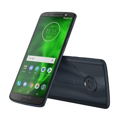 【ポイント10倍!】モトローラ PAAG0028JP Android 8.0搭載 メモリ/ストレージ:3GB/32GB SIMフリースマートフォン 「Moto G6」 ディープインディゴ
