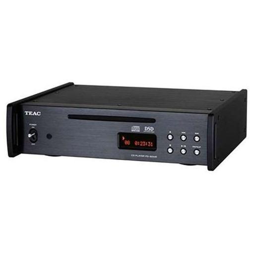 TEAC(ティアック) PD-501HR-SE-B 【ハイレゾ音源対応】 DSD/PCM ハイレゾ音源再生対応CDプレーヤー ブラック