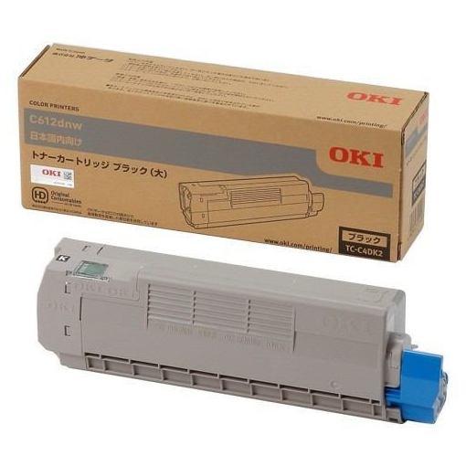 OKI TC-C4DK2 トナーカートリッジ ブラック(大)