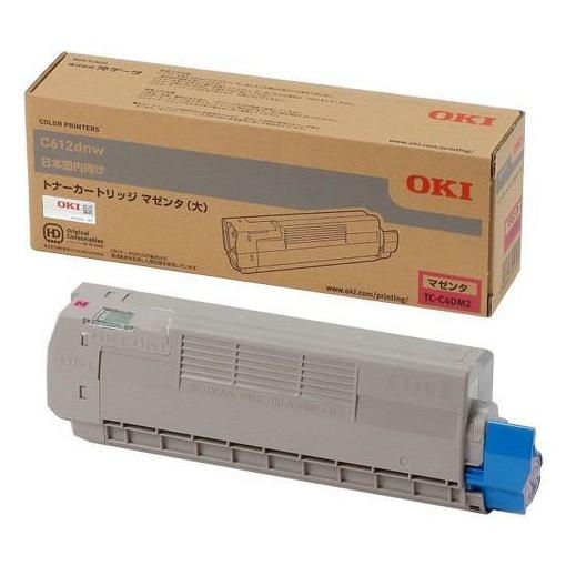 OKI TC-C4DM2 トナーカートリッジ マゼンタ(大)