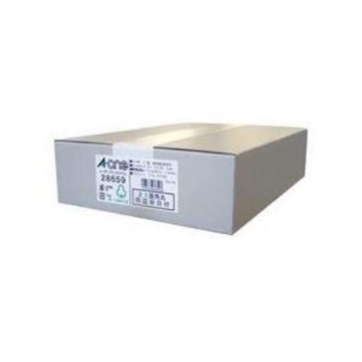 エーワン 28659 ラベルシール レーザープリンタ ( A4 / 21面 / 四辺余白付 / 500シート ) ホワイト