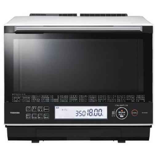 東芝 ER-SD5000-W 過熱水蒸気オーブンレンジ 「石窯ドーム」 30L グランホワイト