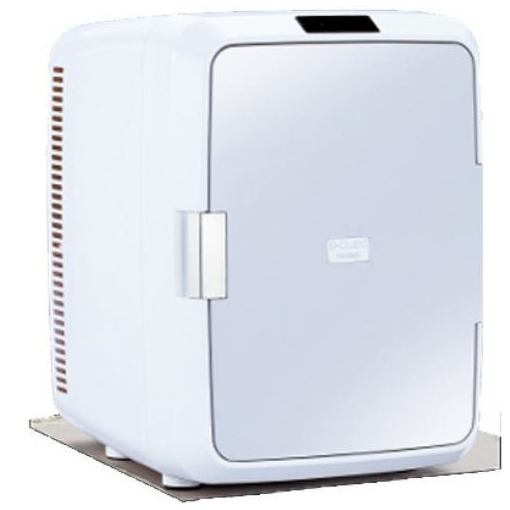 ツインバード HR-DB08GY 20L 2電源式ポータブル電子適温ボックス「D-CUBE X」 グレー
