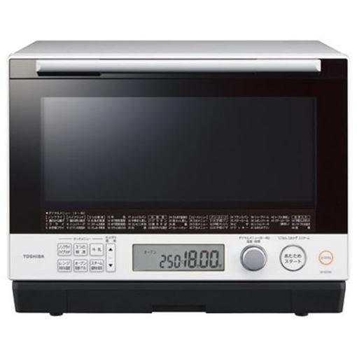 東芝 ER-SD100-W 過熱水蒸気オーブンレンジ 「石窯ドーム」 30L グランホワイト