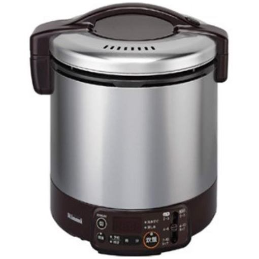 リンナイ RR-100VMT(DB)-13A ガス炊飯器 「こがまる VMTシリーズ」(1升) 【都市ガス13A用】 ダークブラウン