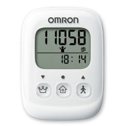 オムロン HJ-325-W 歩数計 ホワイト