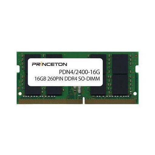 プリンストン 16GB PC4-19200(DDR4-2400) 16GB 260PIN PDN4/2400-16G SO-DIMM PDN4 PDN4/2400-16G/2400-16G PDN4/2400-16G, ワッペン屋さんラボ:11a053b3 --- jpworks.be
