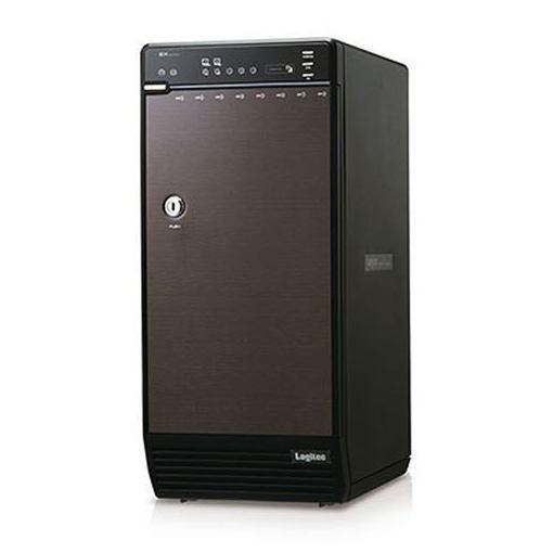 ロジテック LGB-8BNHEU3 HDDケース 3.5インチ8台 USB 3.0+eSATA接続 ソフト付