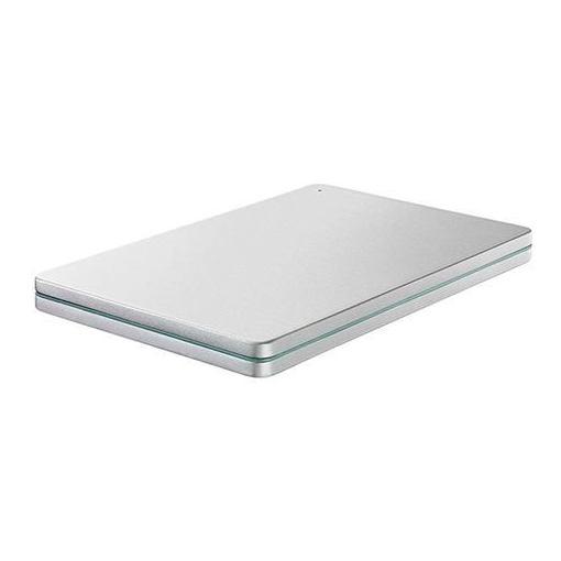 IOデータ HDPX-UTS2S USB 3.0/2.0対応 ポータブルハードディスク「カクうす」 Silver×Green 2TB