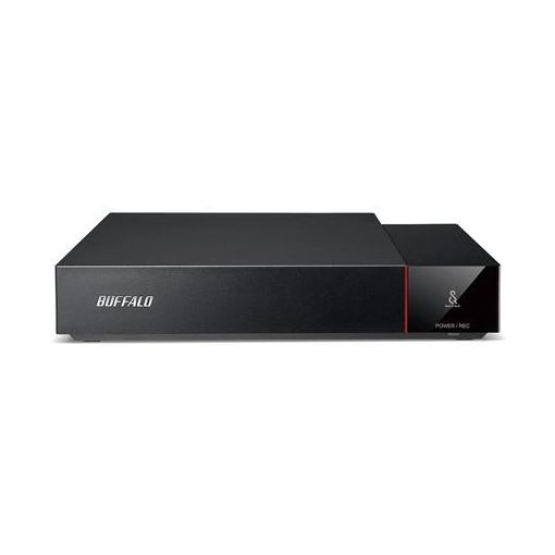 バッファロー HDV-SQ1.0U3/VC SeeQVault対応 24時間連続録画対応 テレビ録画専用設計 USB3.1(Gen1)/USB3.0対応外付けHDD 1TB
