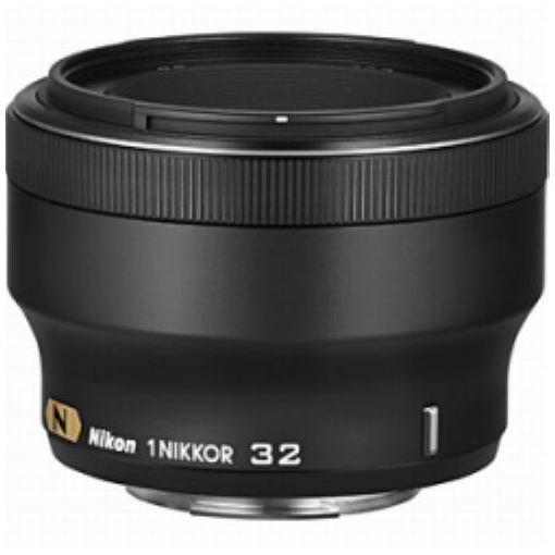 交換用レンズ 1 NIKKOR 32mm f/1.2(ブラック) ニコン1マウント用レンズ
