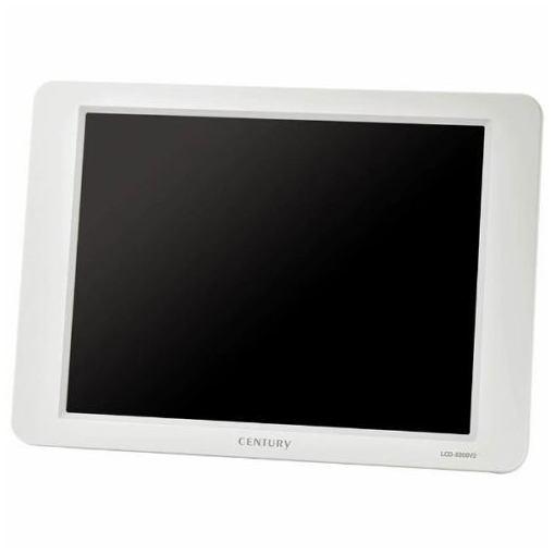 センチュリー LCD-8000V2W 8インチアナログRGBモニター plus one VIDEO VGA(ホワイト)