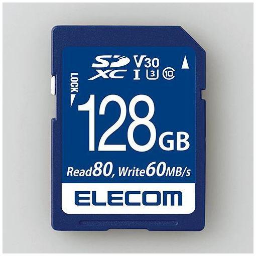メーカー在庫限り品 エレコム MF-FS128GU13V3R データ復旧SDXCカード UHS-I V30 128GB U3 お得なキャンペーンを実施中