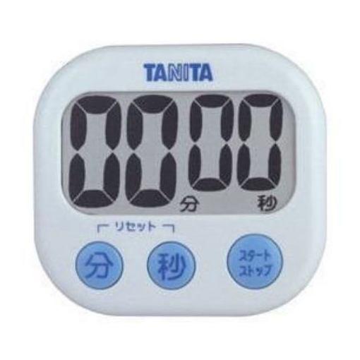 TANITA タニタ TD-384-WH ホワイト でか見えタイマー 訳ありセール [正規販売店] 格安 デジタルタイマー