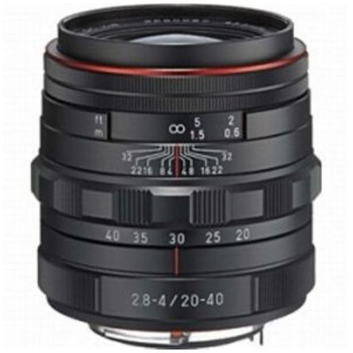 【ポイント10倍!5月10日(金)0:00~23:59まで】交換用レンズ HD PENTAX-DA 20-40mm F2.8-4ED Limited DC WR (ブラック)