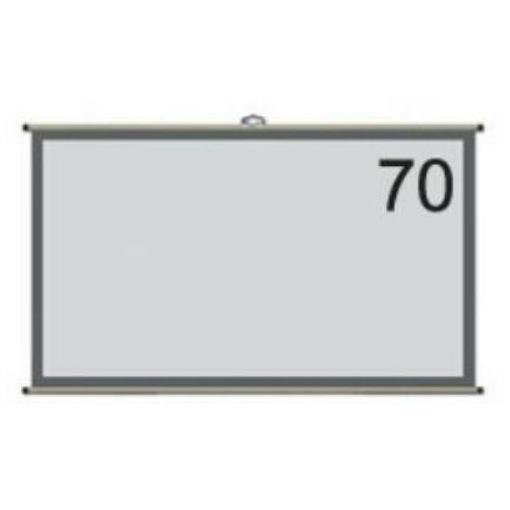 キクチ科学研究所 WAV-70C 70インチ壁掛けタイプ4:3スクリーンVICTORY TYPE(ホワイトマットアドバンス)