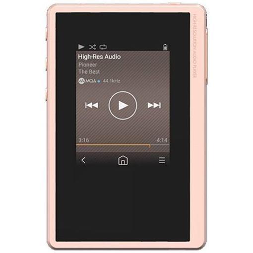 パイオニア XDP-20(P) 【ハイレゾ音源対応】 デジタルオーディオプレーヤー 「private(プライベート)」 16GB ピンク