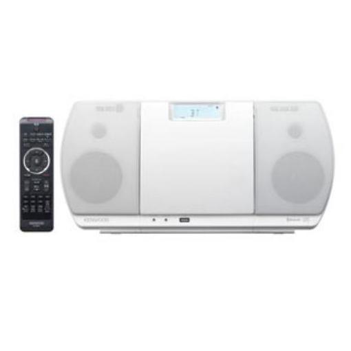 ケンウッド(KENWOOD) CR-D3-W ミニコンポ USBパーソナルオーディオシステム(ホワイト)