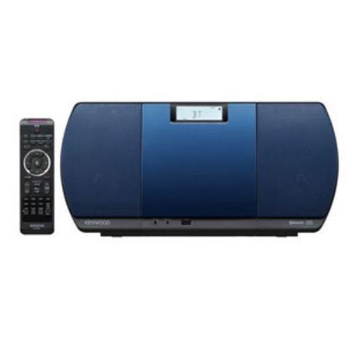 ケンウッド(KENWOOD) CR-D3-L ミニコンポ USBパーソナルオーディオシステム(ブルー)