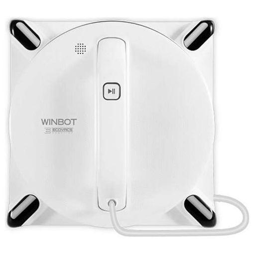 【ポイント10倍!10月11日(金)01:59まで】エコバックス W950 窓用ロボット掃除機 「WINBOT」 クラシックホワイト
