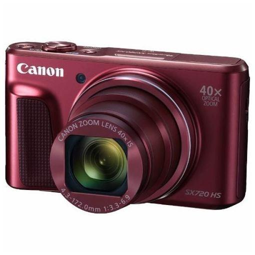 キヤノン PSSX720HS(RE) デジタルカメラ PowerShot(パワーショット) SX720 HS(レッド)