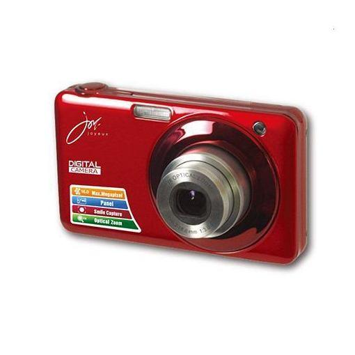 【全品ポイント5倍 8/4 20:00~8/9 01:59】ジョワイユ JOYV600RD 20MEGA PIXEL CMOS HULLHD 光学ズーム デジタルカメラ レッド